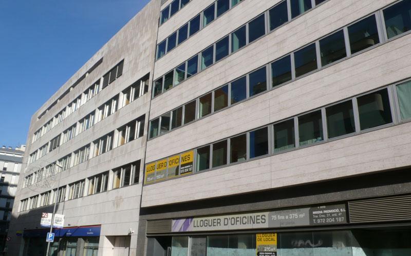 Inmobiliaria girona alquiler de oficinas y despachos en for Oficinas bankia girona